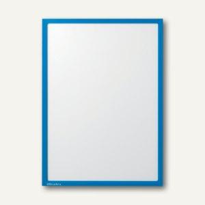Ultradex Infotasche DIN A4, hoch/quer, magnethaftend, blau, 5 Stück, 889007