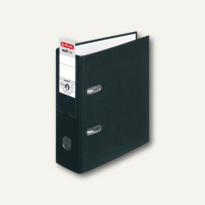 Herlitz PP-Ordner maX.file protect DIN A5 hoch, Breite 75 mm, schwarz, 10842300