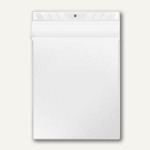 Sichttasche, A5, PP 140 my, Überfallklappe, mittige Lochung, 10 Stück, 3305010