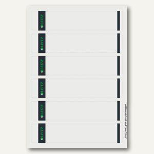 Rückenschilder für PC-Beschriftung, schmal/kurz, grau, 150 Stück, 1686-20-85 - Vorschau