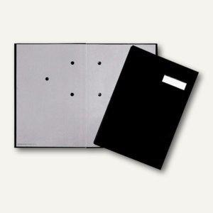 officio Unterschriftenmappe Basic DIN A4, Kartoneinband, 20 Fächer, schwarz - Vorschau