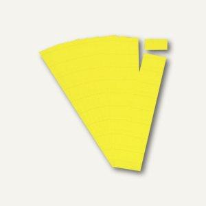Ultradex Steckkarten für Planrecord Tafeln, 7 cm, citrone, 90er Pack, 140715