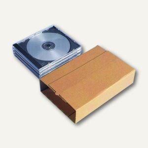 Versandverpackung Vario CD für 2-6 CDs, 195x128x30-73mm, 100 St., 2002600