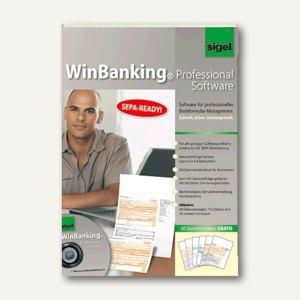 Sigel WinBanking - Professional Software, Lizenz für 4 Arbeitsplätze, SW235