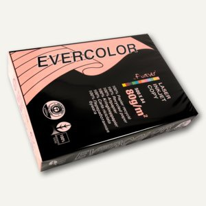 Clairefontaine Papier EVERCOLOR PASTELL, DIN A4, 80g/m², rosa, 500 Blatt, 40003C