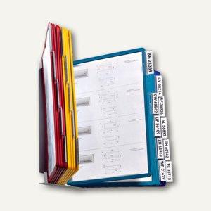 Wandsichttafelsystem VARIO WALL 20, DIN A4, mit 20 Tafeln, farbig sortiert