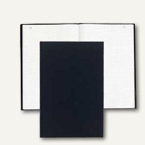 Exacompta Geschäftsbuch DIN A4, kariert, 250 Blatt/500 Seiten, 415E