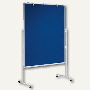 MAUL Moderationstafel MAULpro, 120 x 150 cm, Textil, blau, 6380382 - Vorschau