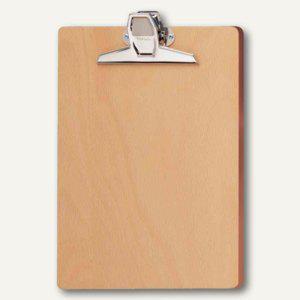 MAUL Holzschreibplatte aus Hartfaser-Holz, DIN A4, Buche, Holz, 2396070