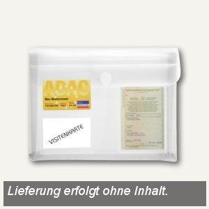 FolderSys KFZ-Tasche mit Dehnfalte 3cm, 3 Folientaschen, klar, 100 St., 40115-04