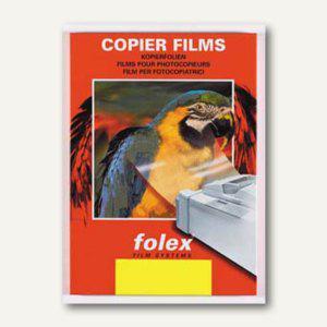 Laserdruck-/Kopierfolie XA-F, DIN A4, selbstklebend, klar, 100er Pack, XA-F klar