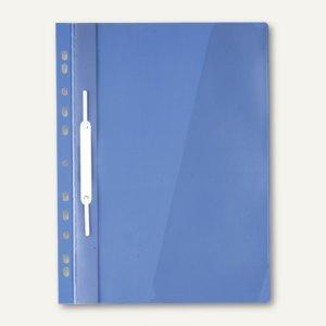 Durable Einhänge-Sichthefter DIN A4, mit Abheftleiste, blau, 25 St., 2560-06