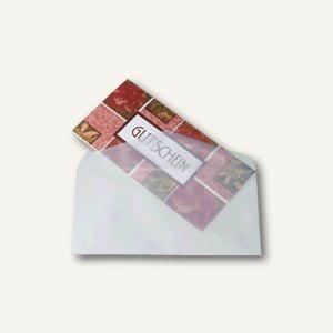 Sigel Briefumschlag DL, 110 x 220 mm, nassklebend 100g/m², transp., 25 St., DU130