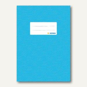Herma Heftschoner DIN A5, PP, hellblau gedeckt, 50 Stück, 7433