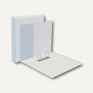 dataplus Präsentationsringbuch DIN A4, 2-Ring Ø 20 mm, weiß, 10 St., 16342.070