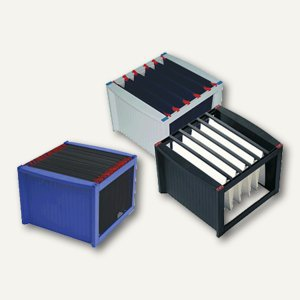 Helit Hängeregistratur-Gestell DIN A4, grau/blau, 260 x 360 x 380 mm, H6110084