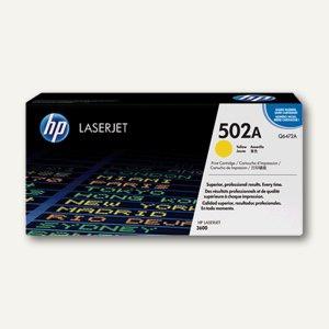 HP Toner NR. 502A, gelb - ca. 4.000 Seiten, Q6472A