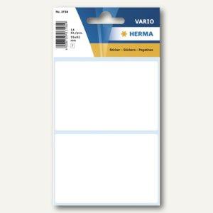 Herma Vielzweck-Etiketten, 55 x 82 mm, weiß, 10 x 14 Stück, 3758