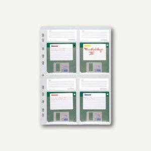 Durable Diskettenhülle DIN A4, transparent, 10 Stück, 5243-19 - Vorschau