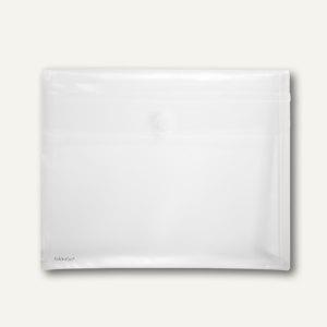 Dokumententaschen - DIN A4 quer, Dehnfalte 30 mm, matt transp., 100St., 40105-04
