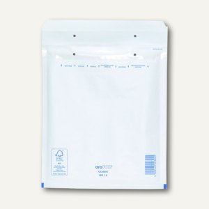 officio Luftpolstertasche E, 240 x 275 mm, weiß, 100 Stück