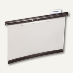 Durable Hängehefter DIN A4, Kunststoff, grau, 25 Stück, 2565-10