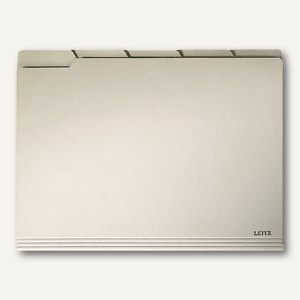 LEITZ Einstellmappe mit Tabs, DIN A4, 200 g/m², chamois, 100 St., 2434-00-11