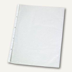 officio Prospekthüllen DIN A4, 60my, glasklar, oben offen, 100 Stück