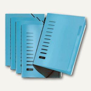 Pagna Ordnungsmappe PP, für DIN A4, 6-teilig, blau, 40056-02