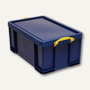 Really Useful Box Aufbewahrungsbox 64 Liter, 710 x 440 x 310 mm, blau, 4800074SB