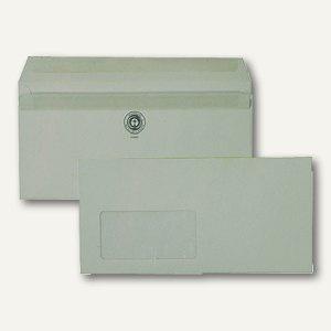 Fensterbriefumschlag DL, selbstklebend, 75g/m² recyclinggrau, 1.000 St., 2930