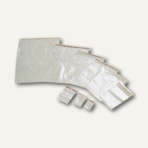 officio Schnellverschlussbeutel, 70 x 100 mm, 45-50 my, transparent, 1.000 St.