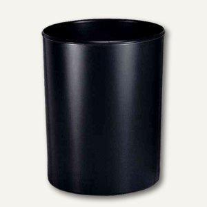 HAN Papierkorb 20 Liter, Polystyrol, flammhemmend, schwarz, 1818-F-13