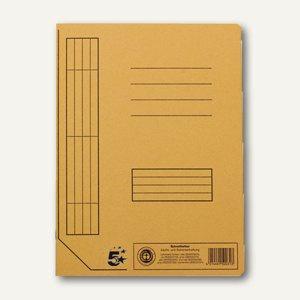 officio Karton- Schnellhefter DIN A4, chamois, 100er Pack