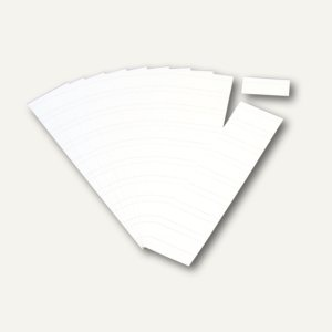 Ultradex Steckkarten für Planrecord Tafeln, 7 cm, weiß, 90er Pack, 140708