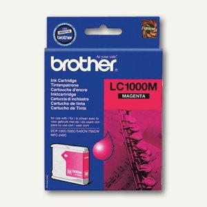 Brother Tintenpatrone magenta, LC1000M