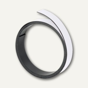 Franken Magnetband 20 mm, Länge 1 m, weiß, M805 09