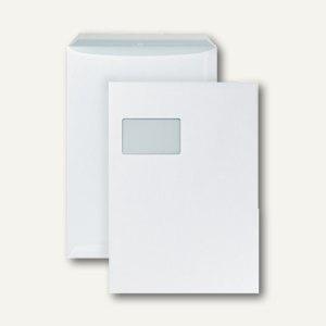 Enduro Faltentasche C4 mit Fenster, haftklebend, weiß, 100 St./Pack, 0-7710120 - Vorschau