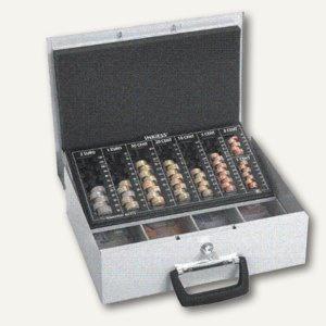Geldkassette PROTECT EU 7, 7 Münz-/4 Belegfächer, 36 x 29 x 12 cm