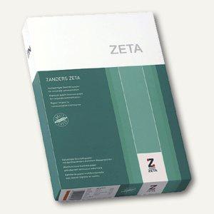 Papier Zeta Mattpost, DIN A4, 80 g/m², naturweiß, Wasserzeichen, 500 Blatt