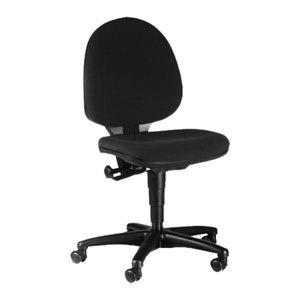 Topstar Drehstuhl Top Pro 1, schwarz, ergonomische Rückenlehne, T100G20