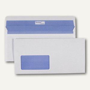 Briefumschläge REVELOPE 112 x 225 mm, haftkl., FSC 80g/m², Fenster, weiß, 500St.