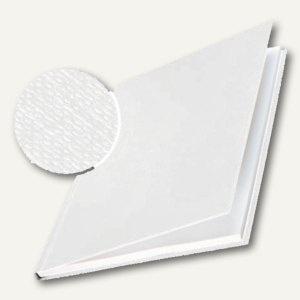 Buchbindemappe impressBIND, 71-105 Blatt, Leinen, Hardcover, weiß, 10 Stück - Vorschau