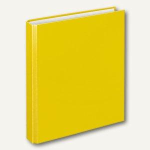 "Ringbücher"" Basic"" DIN A5, PP, 2-Bügelmechanik Ø 20 mm, gelb, 10 Stück, 1159110"