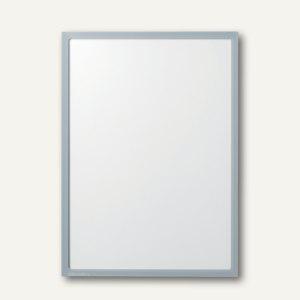 Ultradex Infotasche DIN A5, hoch/quer, magnethaftend, grau, 10 Stück, 888809