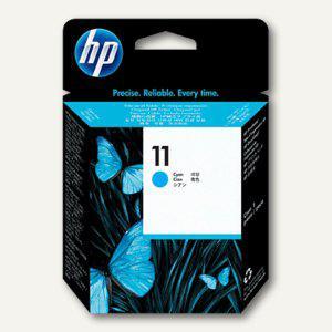 HP Druckkopf Nr.11, 8 ml, cyan, C4811A - Vorschau