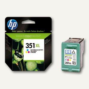 HP Tintenpatrone Nr. 351XL, color, CB338EE