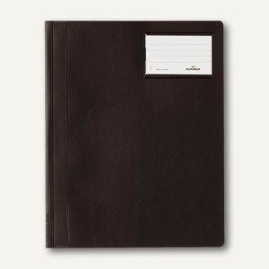 Durable Schnellhefter DIN A4+, m. Beschriftungsfenster, schwarz, 25 St., 2500-01