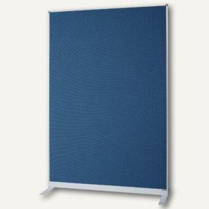 Raumteiler/Trennwand mit Filz-Oberfläche, 180 x 125 x 50 cm, blau, 1103803