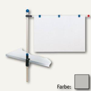 MAUL Tischpresenter, Höhe bis 1.20 m, für DIN A1, grau, 6255084